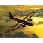 """BOMBARDIER """"WELLINGTON"""" MK.3  Maquette avion Trumpeter 1/72e"""