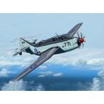 FAIREY GANNET AS. MK1/4 , Armée Britannique. Maquette avion Trumpeter 1/72e