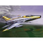 "NORTH AMERICAN F-100D ""SUPER SABRE"" Maquette avion Trumpeter 1/72e"