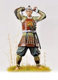 Andrea miniatures,75mm vollfiguren .Ashigaru,1600.