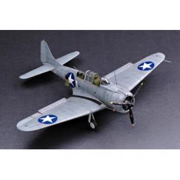 "DOUGLAS SBD 1/2 ""DAUNTLESS"" 1941  Maquette avion Trumpeter 1/32e"