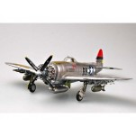 "REPUBLIC P-47 D 25 ""BUBBLE TOP""  Maquette avion Trumpeter 1/32e"