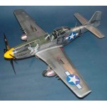 NORTH AMERICAN P-51D Mustang IV 1945. Maquette avion Trumpeter 1/24e