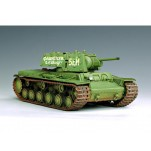 "Char lourd Soviétique KV-1 type ""Ehkranami"". Maquette Trumpeter 1/35e"