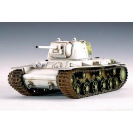KV-1 Soviétique 1942. Maquette de char Trumpeter 1/35e.