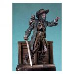 Andrea Miniatures 54mm.Figurine de Pirate Zombie.