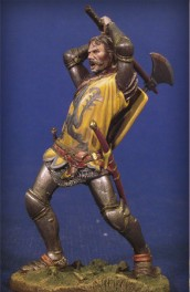 Andrea miniatures 54mm Figurine Chevalier à Crécy 1346.