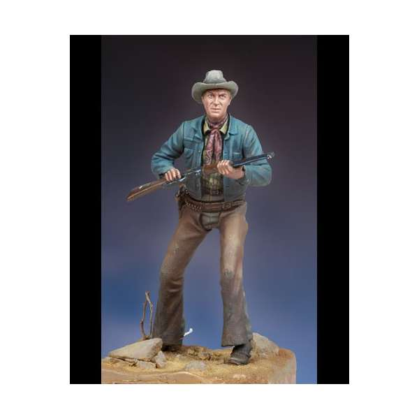 Andrea ,54mm.Far west figure kits.Winchester 73