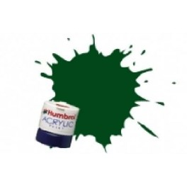 ACRYLIQUE VERT BRUNSWICK -  Peinture Humbrol 3,14 ML.