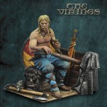 Andrea miniatures,54mm.Viking Oarsman figure kits.