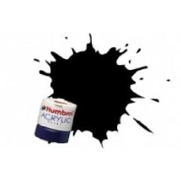 ACRYLIQUE  NOIR ANTHRACITE SATINE - Peinture Humbrol 85 14 ML