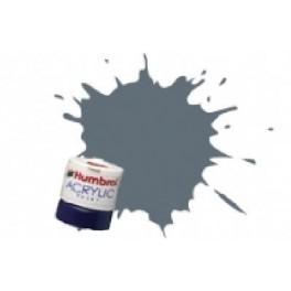 GRIS FONCE U.S. SATINE ACRYLIQUE.Peinture Humbrol 125  14 ML