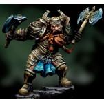Figurine Andrea Warlord Saga ,54mm.Grandar Fierbeard