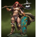 Figurine fantastique Andrea 54mm. Verthandi. Burning Ice.