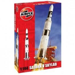 SATURN V SKYLAB. Maquette de fusée. Airfix 1/144e