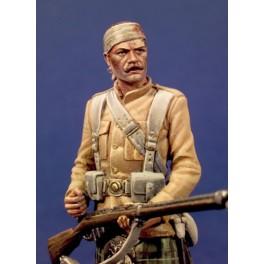 Figurine Andrea miniatures.54mm.79e Seaforth Highlandres,Soudan,1898.