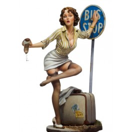 Andrea miniatures,80mm.Biu Stop.Pin up figure kits.