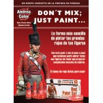 Andrea miniatures.Red Paint Set.
