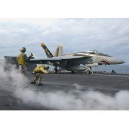 BOEING F/A-18 E SUPER HORNET Maquette Revell  1/144e.