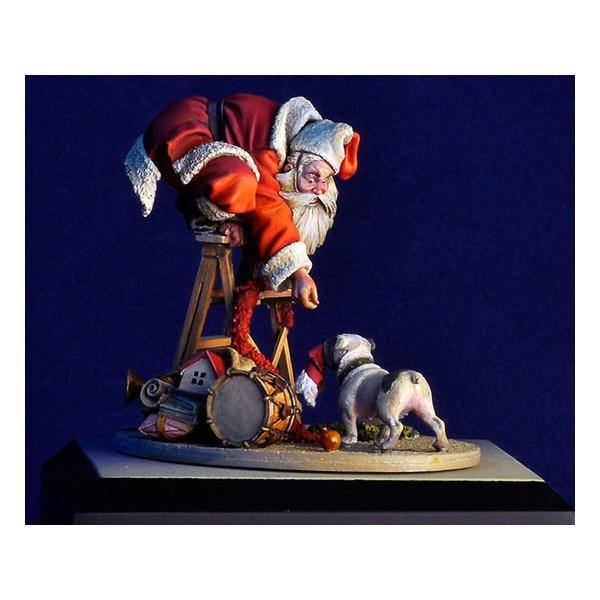 Figurine de Petit Papa Noël. Andrea miniatures,54mm .
