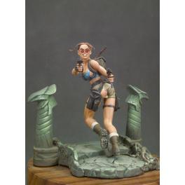 Andrea miniatures,80mm.Storm Rider figure kits.