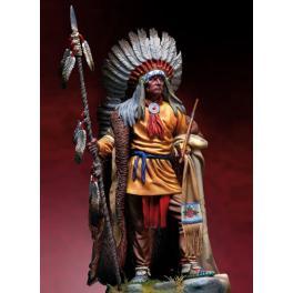 Andrea 90mm Figurine de Chef Indien washakie en 1860