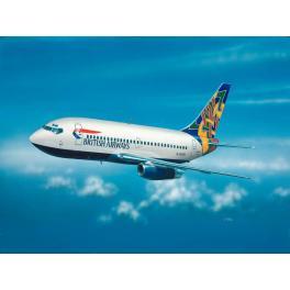 """Maquette BOEING 737-200 """"BRITISH AIRWAYS"""" 1/200e REVELL."""