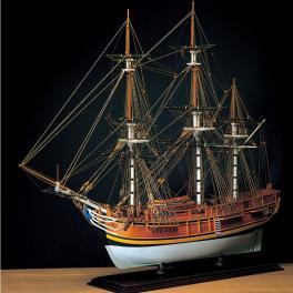 H.M.S. BOUNTY Amati-1787 1/60e Maquette en bois .