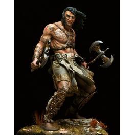 The Barbarian figure kits 75mm Pegaso Models.