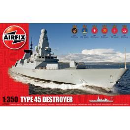 Maquette bateau 350e Airfix-Destroyer Royal Navy.