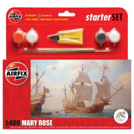 Maquette bateau Airfix 1/400e-Le Mary Rose.