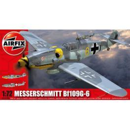 Maquette avion 72e Airfix- Messerschmitt Bf109G-6.