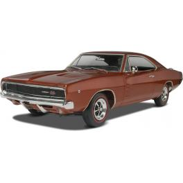 Maquette voiture 25e Dodge Charger 68 Revell.