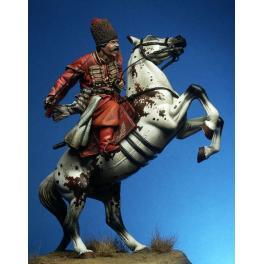 Figurine historique- Cosaque en 75mm Pegaso Models.