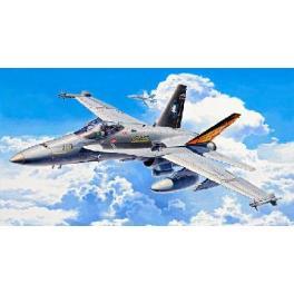 """Maquette avion 72e- Mc DONNELL DOUGLAS F/A-18C """"HORNET"""" Revell."""