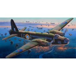 Maquette avion 72e-VICKERS WELLINGTON Mk.II Revell.