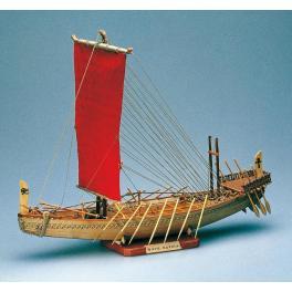 NAVIRE EGYPTIEN 1/50e Maquette de bateau en bois  Amati.