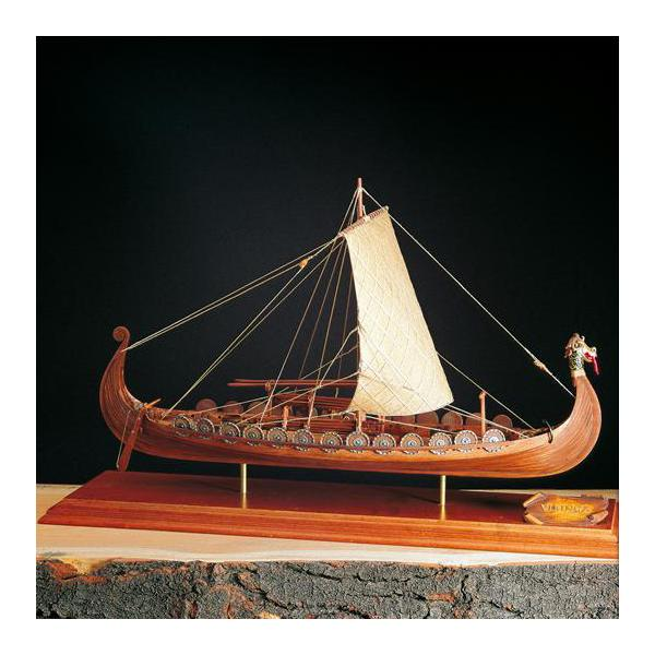 DRAKKAR Amati 1/50e Maquette bois Amati. Navire viking.