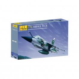 Maquette du Mirage F1 CR Heller 1/72e.