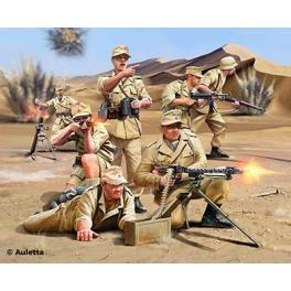 Figurine 1/76e.Afrika Korps 2eGM Revell.