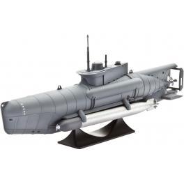 Maquette 1/72e Sous-marin Allemand Seehund de Revell.