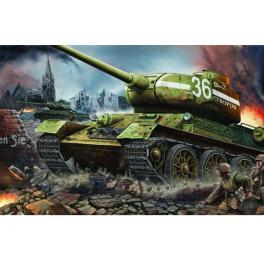 Maquette de char T-34/85 en 1944, 1/16ème