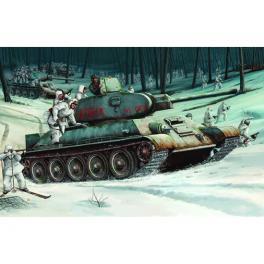 Maquette de char T-34/76 Modele 1942 au 1/16ème.
