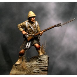 Beneito miniatures,54mm.Figurine de Cameron Highlander,Soudan ,1898.