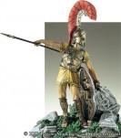 Figurine de Noble Grec,argiraspide, VIe-IVe siècle. 90mm.Pegaso.