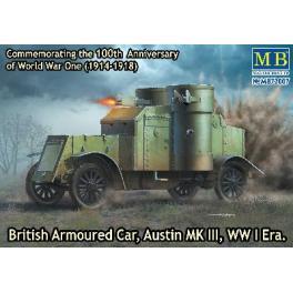 Maquette de blindé Britannique Austin Mk.III-1917.
