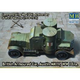 Maquette de blindé Britannique Austin Mk.IV-1918.