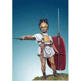 Soldiers 54mm,Roman Hastatus, Punic Wars, 265-146 Bc. Historical military miniatures.