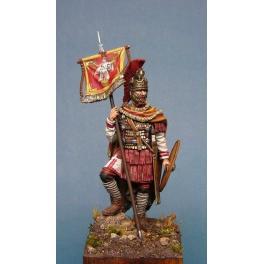 Soldiers 54mm.Roman Cavalry Vessillifer,IIIRd Century  military models figure kits.