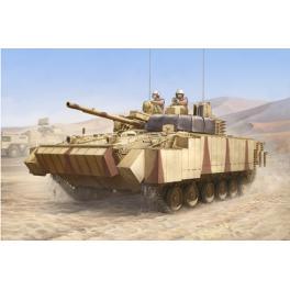 Maquette de char BMP3 avec tuiles au 1/35ème Trumpeter.